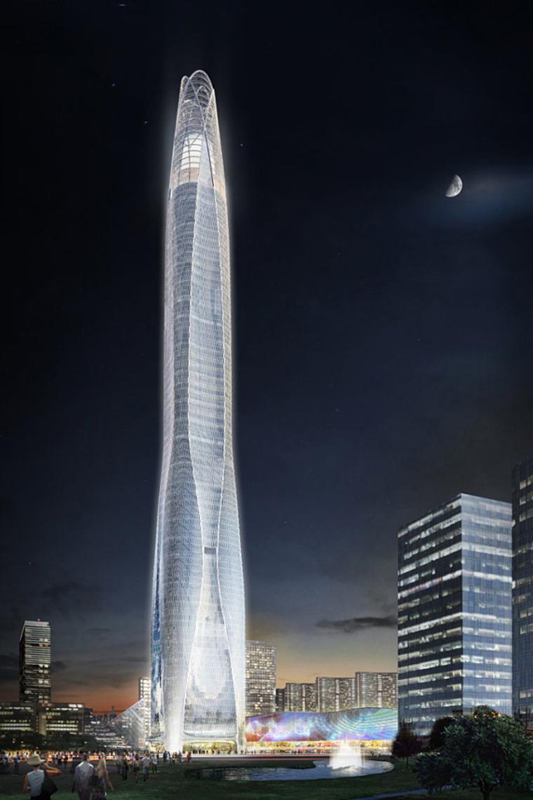 天津周大福超高层项目升至70层,明年初结构封顶