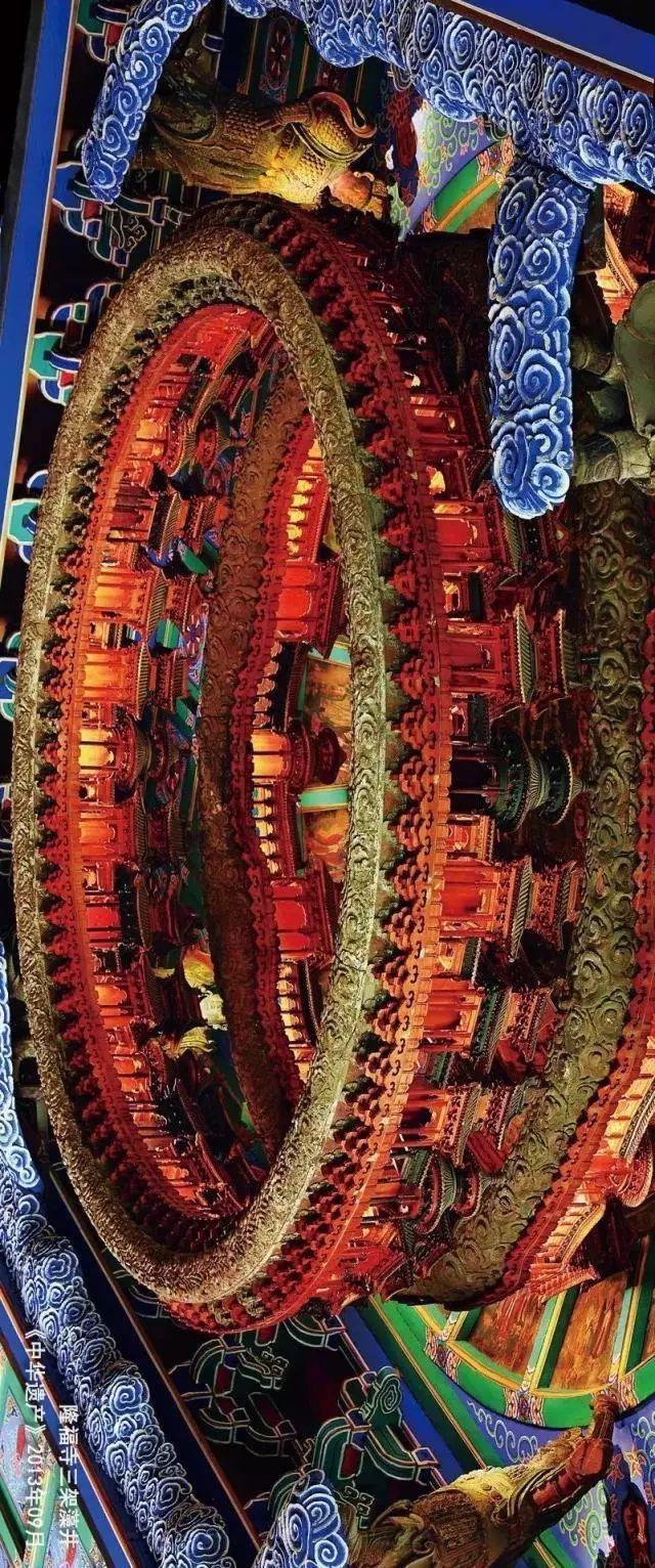 藻井——最美的天花板来自于中国的古建筑
