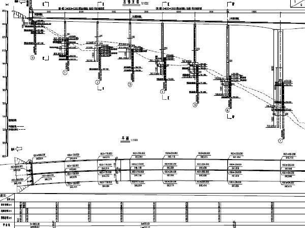 [中交]主桥65+120+65m三向预应力连续刚构梁桥40m后张T梁引桥公路大桥图纸222张PDF