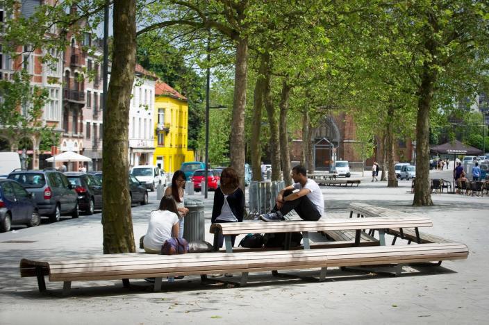 比利时KardinalMercier广场