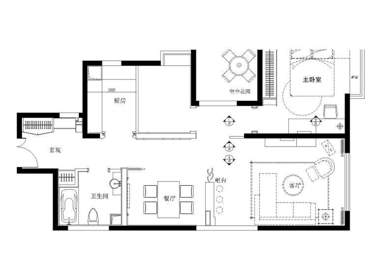 万科样板房装修图纸(部分有现场图)中式、欧式、现代风格装修