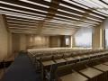 现代阶梯报告厅3D模型下载