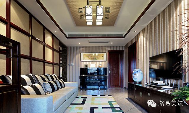 现代中式精品住宅设计风格古典尊贵优雅温婉