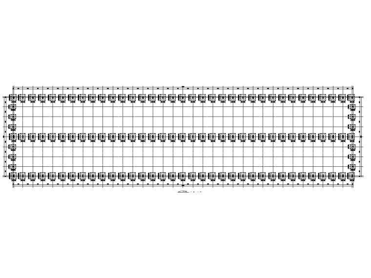 钢结构格构式柱门式钢架结构施工详图(有吊车)