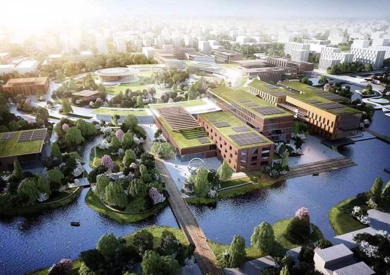 杭州西湖大学总体规划
