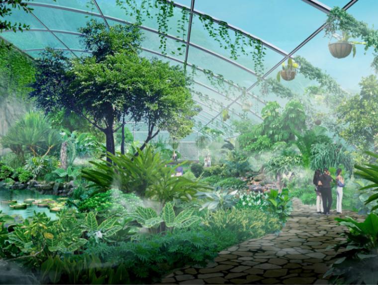 [山东]济南神州生态乐园旅游区控制性规划设计方案文本(养生)