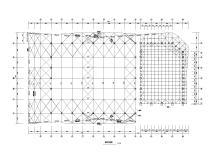[天津]大学新建L形综合体育馆全套施工图(建筑结构水暖电)