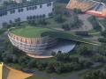 [云南]东南亚风格景区大剧场设计方案文本+施工图+模型(PDF+CAD+SU)