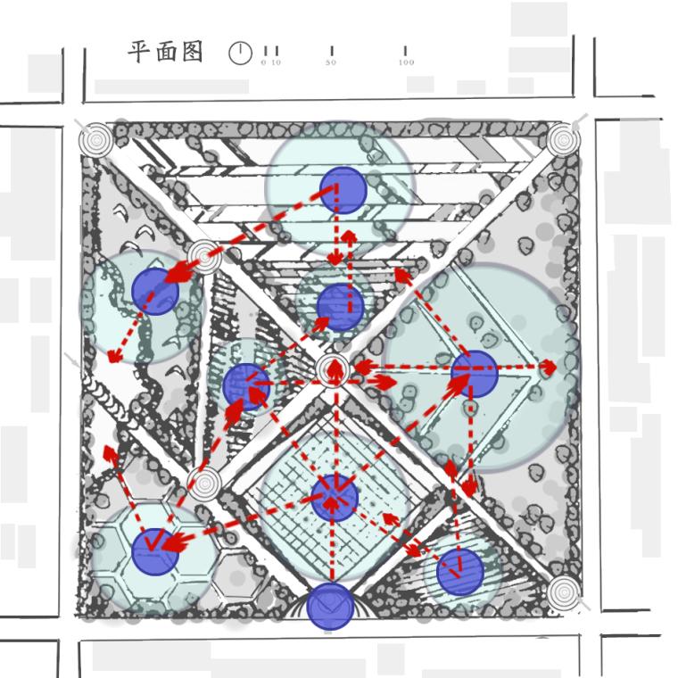 七巧板文化广场设计_6