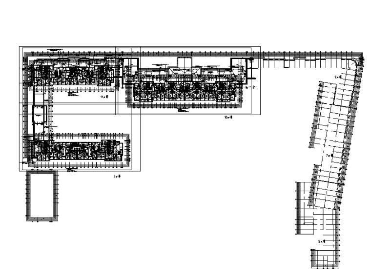 杭州地产强电施工图(高层公寓、别墅、幼儿园、商业配套、含人防)
