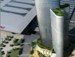[四川]超高层现代风格五星级酒店及甲级办公楼建筑设计方案文本