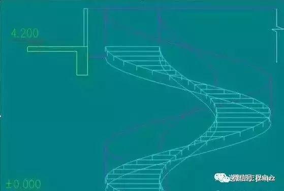 旋转楼梯木工支模方法_3