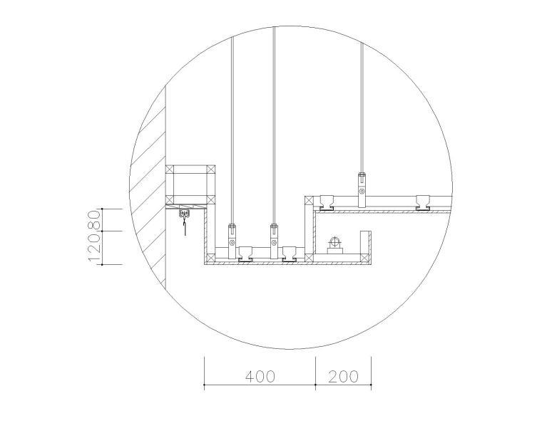 室内装修常用的59个CAD吊顶图块