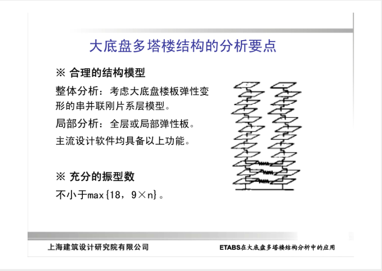 ETABS在大底盘多塔楼结构分析中的应用_3