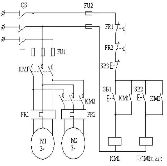 电气控制线路图的绘制及分析_4