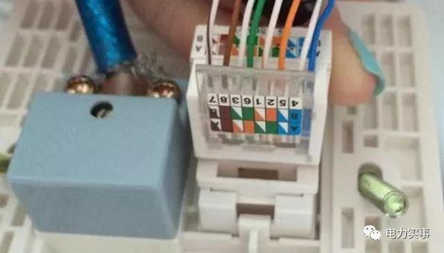 网线水晶头怎么接 网线插座接法