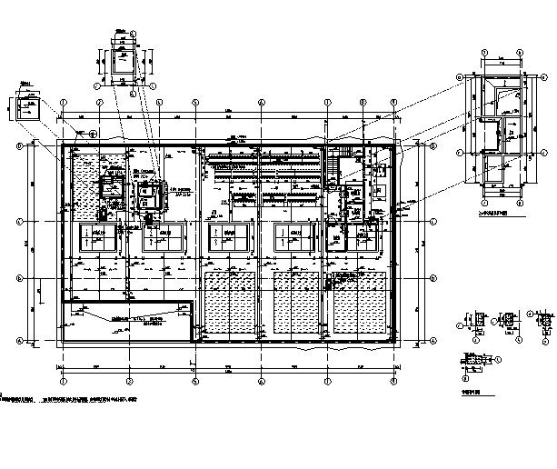 [上海]10个子项目商务办公项目施工图(全专业图纸)_9