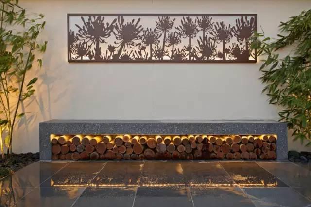 赶紧收藏!21个最美现代风格庭院设计案例_155