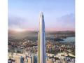 [武汉绿地中心项目]商业及副楼区新增钢屋盖支撑区域结构施工方案