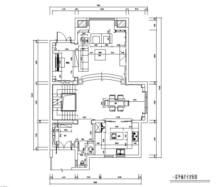 [江苏]混搭风格320平米联体别墅设计施工图(附效果图)