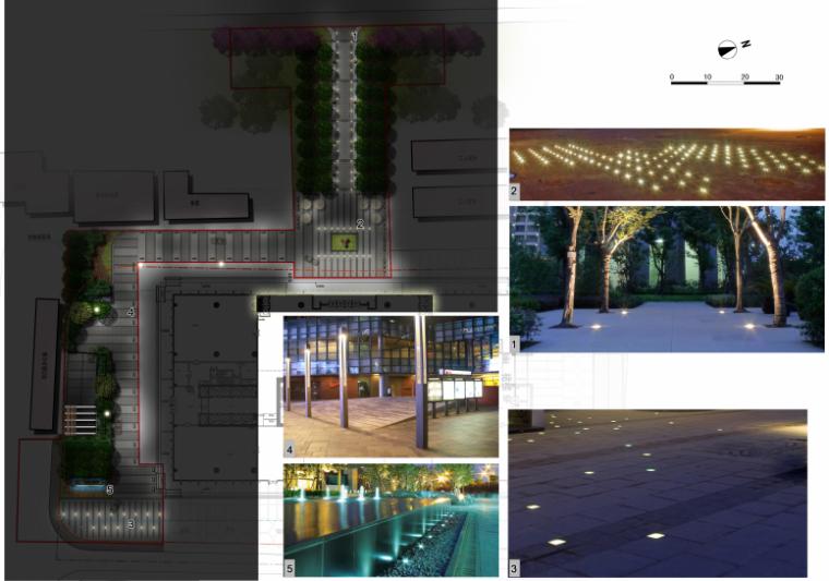 海联大厦(销售期)景观深化设计方案文本-海联大厦( 销售期)景观深化设计方案文本C-3照明设计