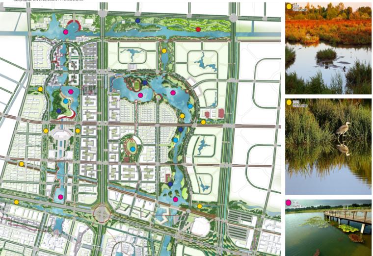[江苏]南通市经济技术开发区核心区域景观规划(PDF+117页)-生态框架