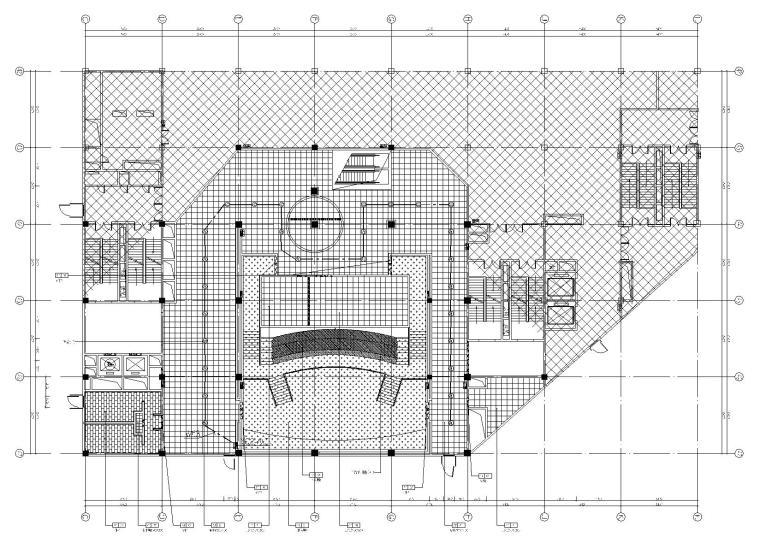 [台州]BONA博纳国际影城台州店室内设计方案+装修施工图+水暖电施工图