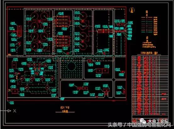 教你怎样看水电安装工程设计图纸