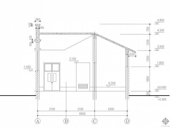 [合集]20套建筑小品——公厕建筑施工图及方案文本_19