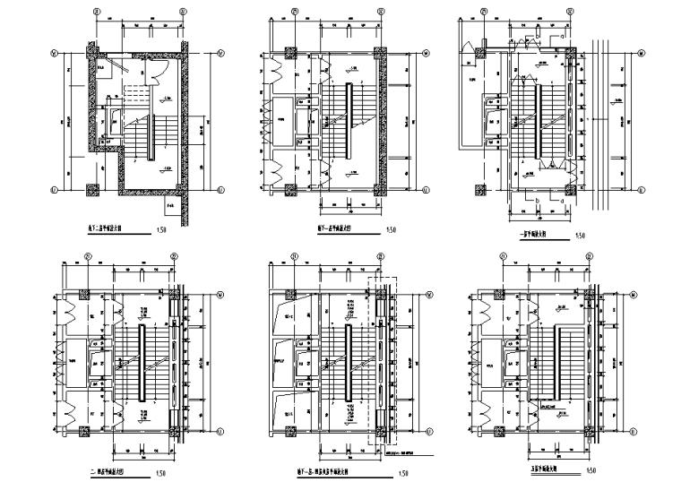 88个电梯自动扶梯节点详图