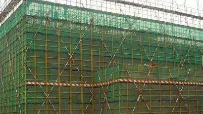 混凝土挡土墙脚手架怎么计算?
