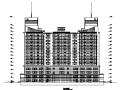 高层框剪结构双子酒店建筑设计施工图