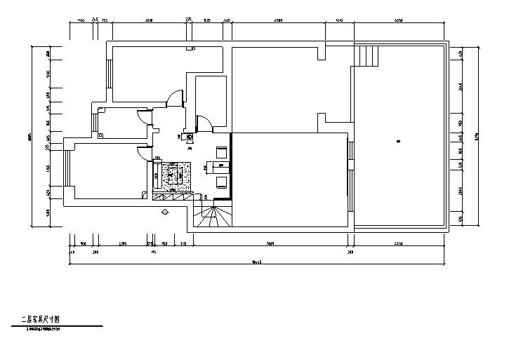二层家具尺寸图