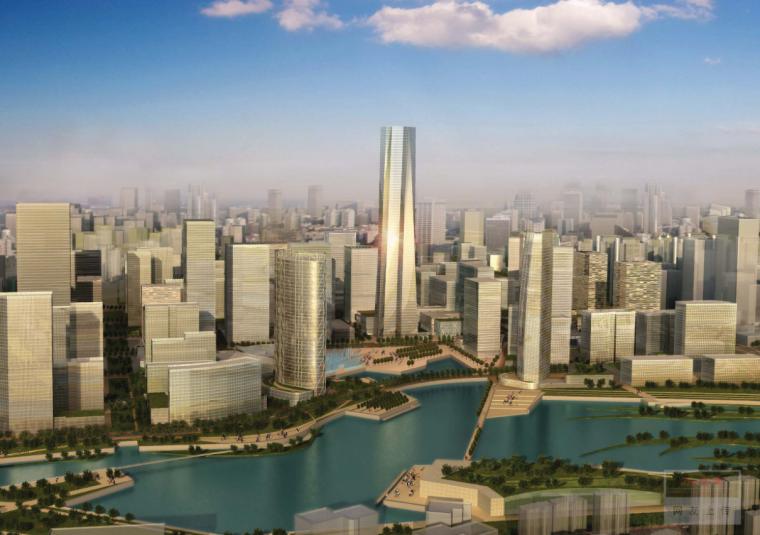 [武汉]高密度多功能商务核心区设计规划方案文本