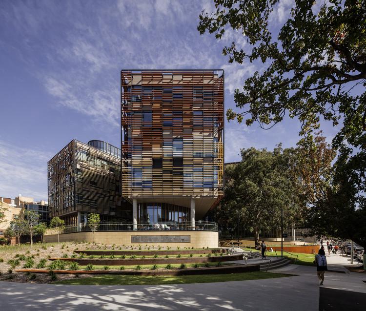 [建筑案例]悉尼大学商学院的旗舰之家