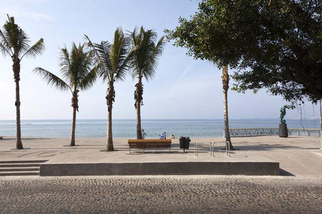 墨西哥巴亚尔塔港海滨景观设计_9