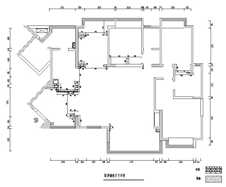 【四川】新中式美式混搭风格样板房设计施工图(附效果图)_4