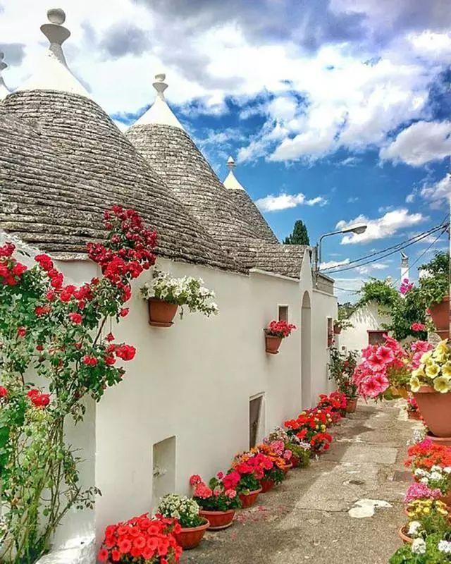 世界上最美的7个鲜花小镇子,这辈子一定要去一次!_1