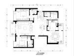 连江复式楼室内装修设计完整施工图及效果图