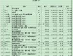 参照广西建筑工程预算书案例