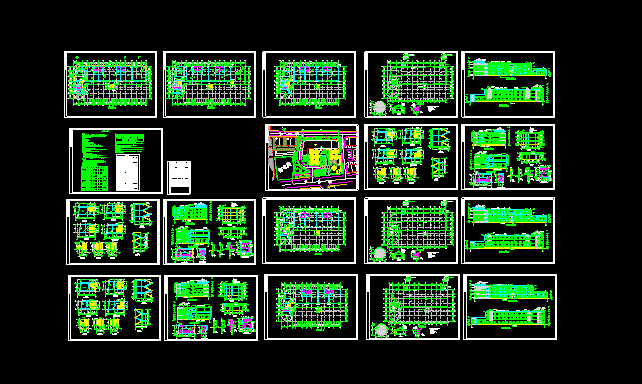 12班3层幼儿园建筑设计全套施工图