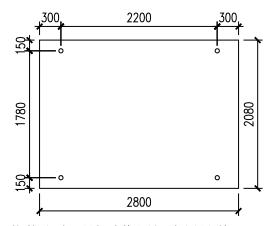 Sap2000玻璃面板与双支立柱计算