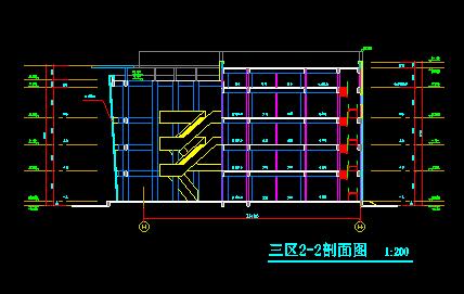 高层圆形平面造型广场归档施工图_4