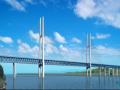 【湖北】斜拉钢桁架主桥绿色施工实施情况汇报(丰富配图)