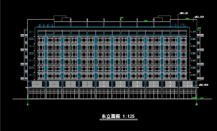 小高层单身公寓方案