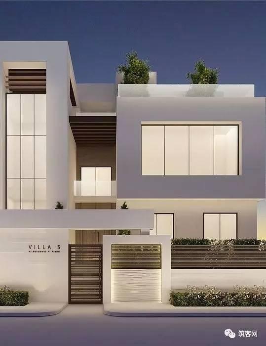 40款·简洁的现代别墅设计_7
