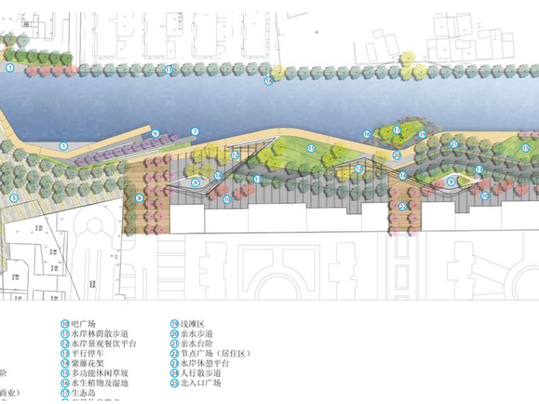 [江苏]中航昆山河岸景观设计(滨水,现代)