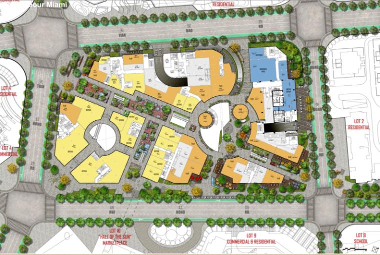 [上海]超现代风格多功能商业建筑设计方案文本(含CAD)_8