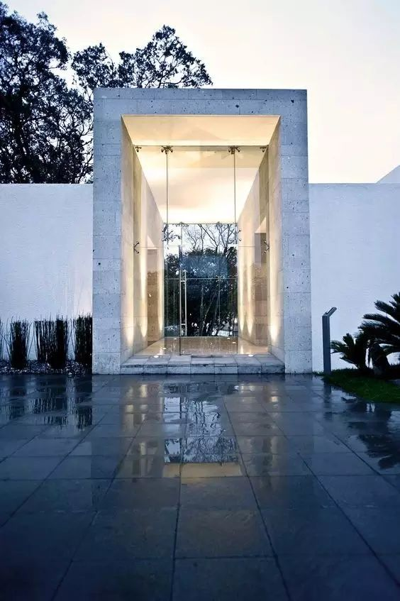 超有设计感的建筑入口_10