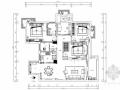 [长沙]环境优雅高层住宅简欧风格三居室装修图(含效果图)